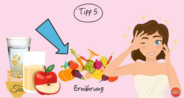 Screenshot empfindliche Haut Tipp 55,
