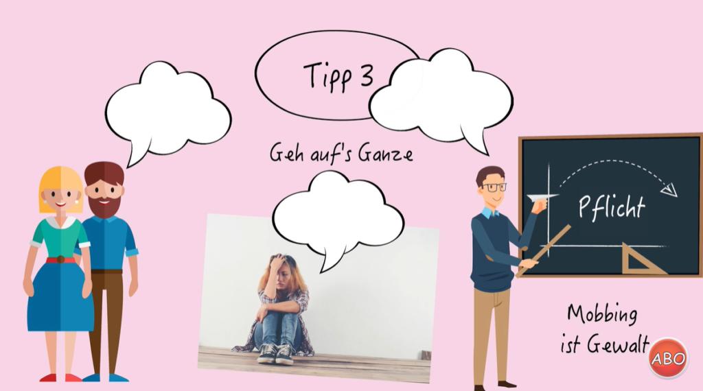 Screenshot Mobbing Tipp 3