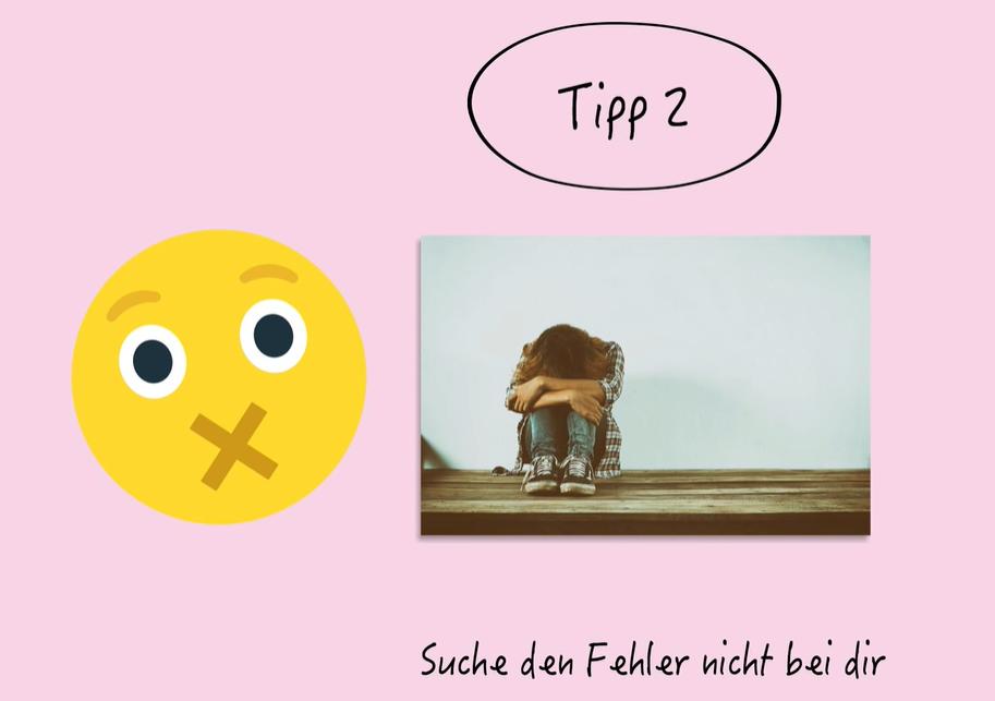 Screenshot Mobbing Tipp 2